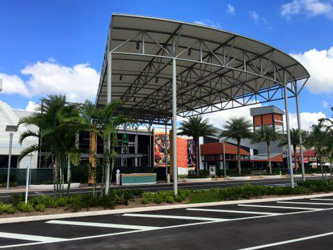 Dolphin Mall Valet Awning Miami Fl Hoover Architectural