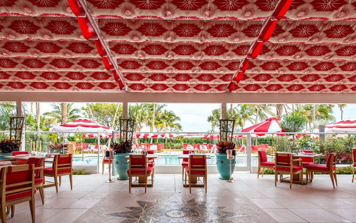 Veranda At The Faena Hotel Retractable Fabric Roof